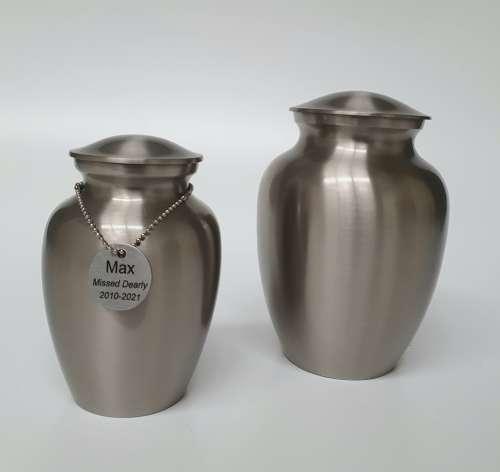 Pet Cremations Busselton   Metal Pet Urns