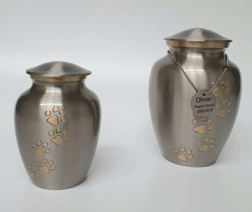 South West Pet Cremations   Metal Pet Urns