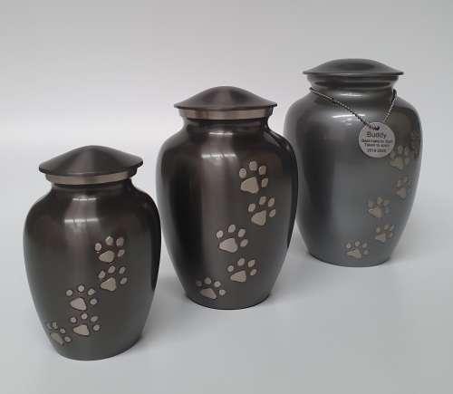 Pet Cremations Bunbury   Metal Pet Urns